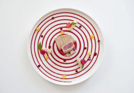 Le pavé de thon / Déclinaison de betterave. par Adam Brunet Chef à Domicile sur le Bassin d'Arcachon et Bordeaux