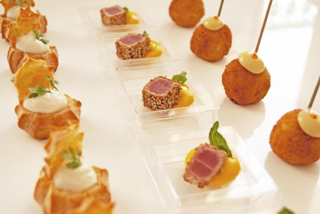 Apéritif dînatoire par Adam Brunet chef à domicile sur le Bassin d'Arcachon et la région bordelaise