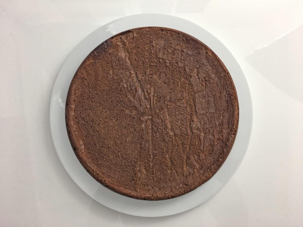 Le gâteau au chocolat cuit par adam brunet chef à domicile sur le Bassin d'Arcachon et la région bordelaise.