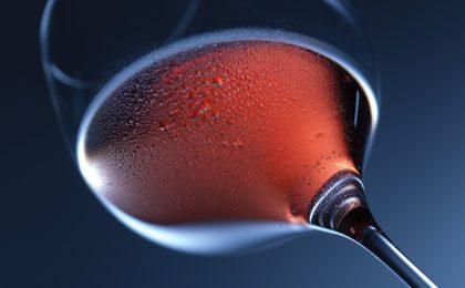 La paraison d'un verre à vin