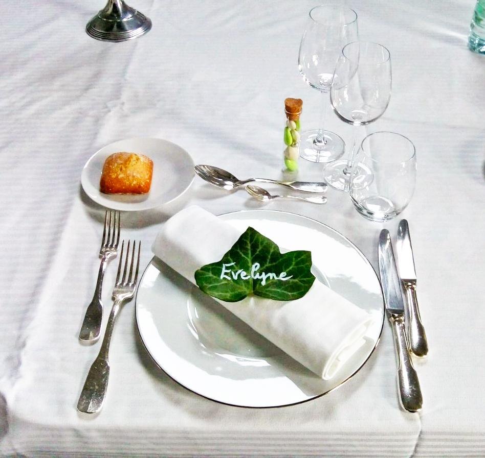 Table de mariage par Adam Brunet chef à domicile